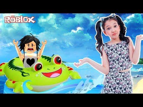 Roblox SERÁ QUE ESCAPAMOS NO BARCO SAPO Vida de Roblox Ep. 11 Luluca Games