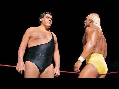 Hulk Hogan vs. Andre the Giant WWE Championship Match WrestleMania III