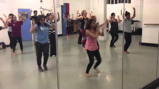 'DJ' Dance Routine (Beginner)   Hey Bro   Sunidhi Chauhan, Feat. Ali Zafar
