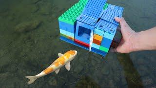 LEGO FISH-TRAP Catches RARE ORANGE Fish!