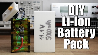 Make your own Li-Ion Battery Pack