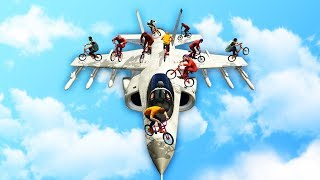 BEST WAY TO TAKE OUT A JET! (GTA 5 Funny Moments)