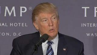 Full Video: Trump opens new hotel in D.C., praises Newt Gingrich