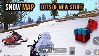 New SNOW MAP Vikendi GAMEPLAY HD - PUBG Mobile !