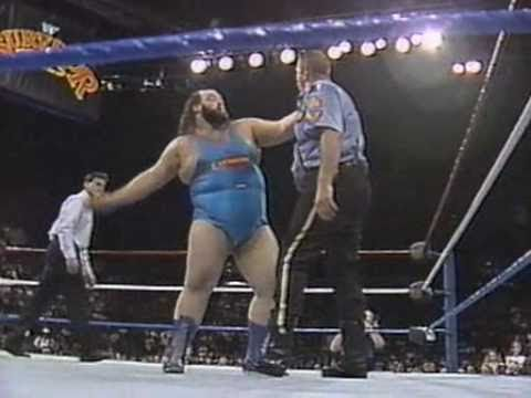 Xxx Mp4 Earthquake Vs The Big Boss Man At Survivor Series Showdown 1990 3gp Sex