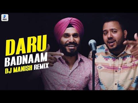 Xxx Mp4 Daru Badnaam Remix DJ Manish Kamal Kahlon Param Singh Latest Punjabi Viral 3gp Sex