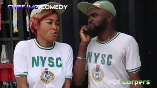 Chief Imo Comedy || Chief imo Na sister maggi Ndi Corper || full movie coming soon