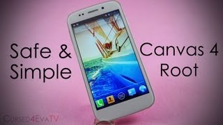 How to Root the Micromax Canvas 4 A210 (Easiest & Safest) - Cursed4Eva.com