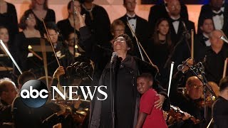 The moment Aretha Franklin stepped in for Pavarotti