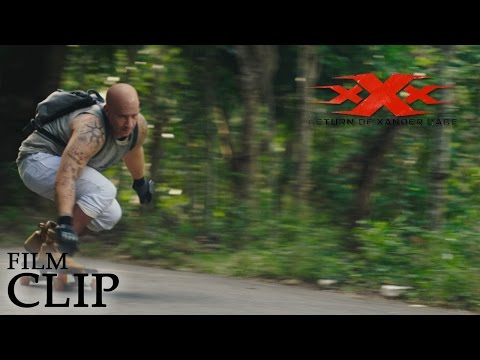 Xxx Mp4 XXx RETURN OF XANDER CAGE Skate Board Official Film Clip 3gp Sex