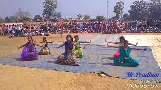 Jis Desh Mein Ganga Behti Hai Dance performed by the students of DAV Public School, Khamar