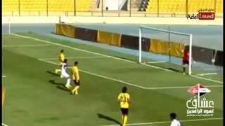 اجمل 3 اهداف في الدوري العراقي الممتاز 2014/2015