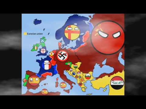 Alternative Future of Europe in countryballs-THE MOVIE