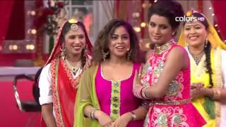 Comedy Nights With Kapil - Harbhajan Singh and Geeta Basra - 6th December 2015 - Full Episode