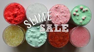 Slime Sale (Holiday Restock)