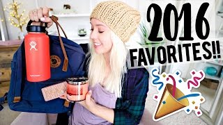 2016 Favorites! Fashion, Beauty, Travel!