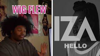 IZA- Hello Cover By Adele (REACTION)