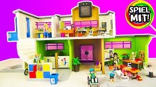 *NEU* Playmobil SCHULE MIT EINRICHTUNG 9453 auspacken! Neues Gymnasium für Hannah? Mit Bio-Raum!