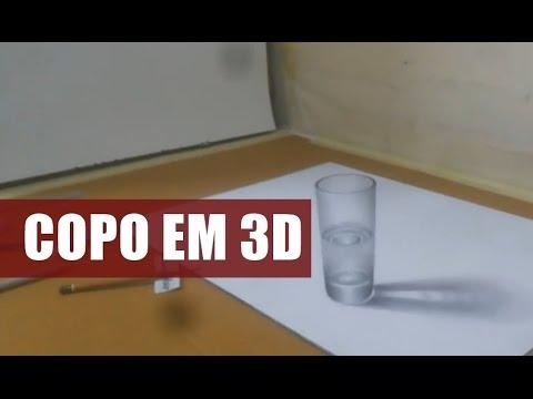DESENHANDO COPO EM 3D