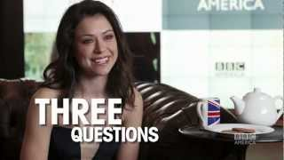 Tatiana Maslany: 3 Questions, 2 Biscuits + 1 Cup of Tea - ORPHAN BLACK BBC America