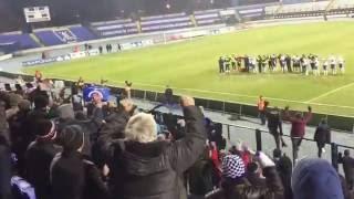 Osijek - Slaven 1:0, slavlje
