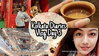 Kolkata Diaries - Vlog Day 3 || India Travel Vlog - LINDA