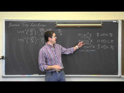 Evaluating Inverse Trigonometric Functions Full Length PLEASE READ DESCRIPTION