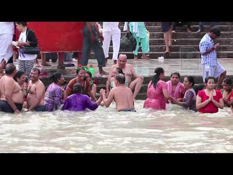 Har Ki Pauri ghat in Haridwar, India