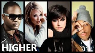 Taio Cruz - Higher ft. Christina Grimmie, Kylie Minogue & Travie McCoy (Mashup)