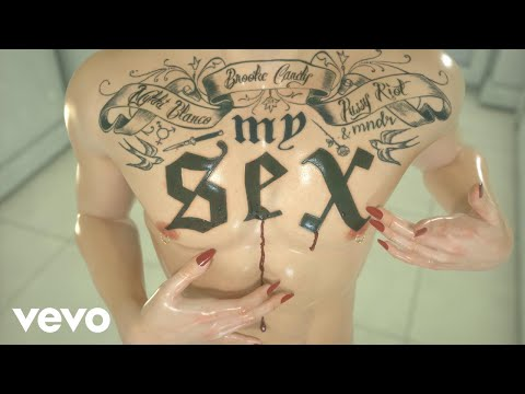 Xxx Mp4 Brooke Candy My Sex OFFICIAL VIDEO Explicit Ft Pussy Riot Mykki Blanco MNDR 3gp Sex