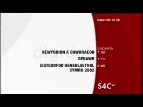 S4C Digidol Menu Newyddion titles 2002
