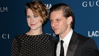 Evan Rachel Wood & Jamie Bell Split! Couple Call it Quits After Nearly Two Years of Marriage