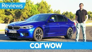 New BMW M5 2018 review - find out if it's quicker than a Mercedes-AMG E63 S