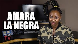 Amara La Negra on Her Immigrant Mom Having Multiple Jobs, Dad Never There (Part 1)