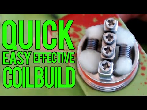 Xxx Mp4 Quick And Effective Coil Build For RDA Atomizers 3gp Sex