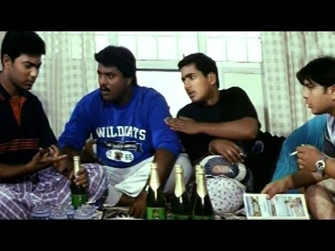 Holi Comedy Scene - Kiran Friends Plans To Have A Party - Uday Kiran, Sunil - HD