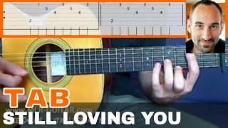 Still Loving You Guitar Tab