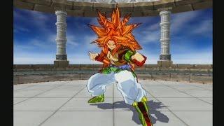 DBZ Budokai Tenkaichi 3 | Goku SSJ10 Y Vegeta SSJ10 vs Broly SSJ10 Y Zaiko | Rare Mods
