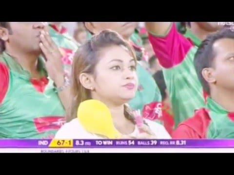 Hot bangladeshi girls | india vs bangladesh match | must watch