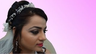 Indian Bridal Makeup - Christian Bride