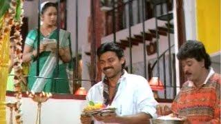 Raja Movie Comedy Scenes - Raja And Balu Chanting Scene - Venkatesh, Soundarya