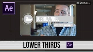 After Effects Tutorial: Awesome Stroke Lower Third