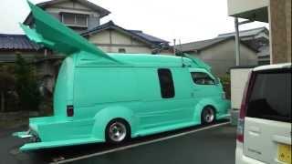 Walkaround: A minty-fresh Bat-van!
