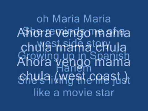 Xxx Mp4 Maria Maria Santana Lyrics 3gp Sex