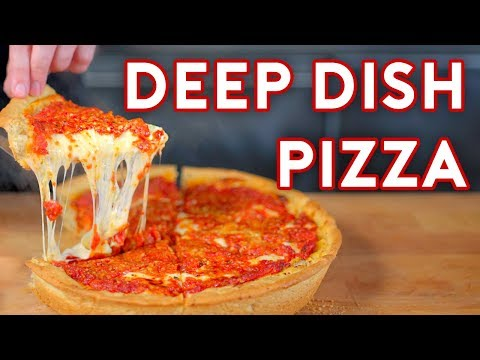 Binging with Babish Chicago Style Pizza from The Daily Show