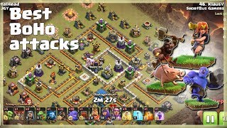 Th12 Best BOHO Attacks with VALKS  | TH12 War Strategy #79 | COC 2018 |