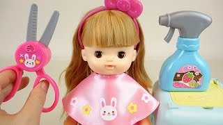 Baby Doll hair cut and Make up toys