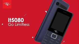 itel it5080 - Triple Sim Card Feature Phone.