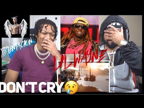 Xxx Mp4 RIP XXX 🙏🏽 Lil Wayne Don't Cry Ft XXXTENTACION REACTION 3gp Sex