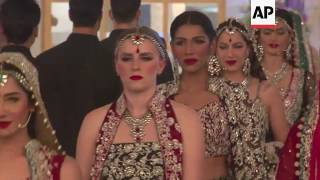 City of Lahore hosts Bridal Couture Week